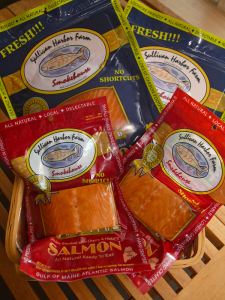 smoked salmon whole products from sullivan harbor farm